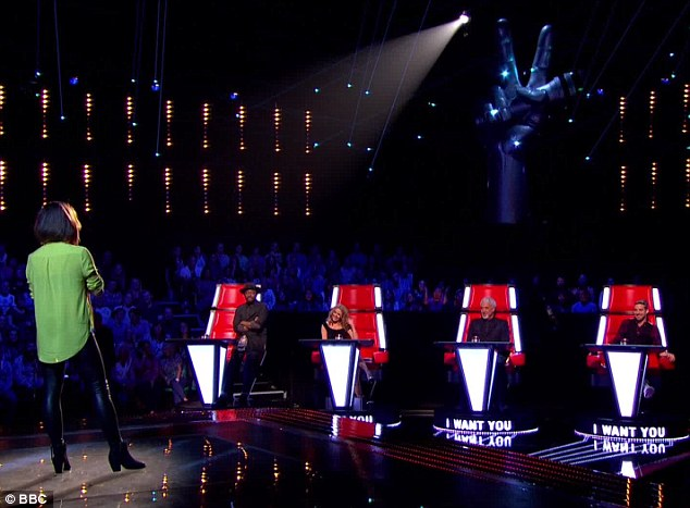 Wanted: Jai's performance was enough to see all four judges turn around in their big red chairs