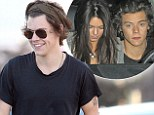 Harry Styles 'spends 20th birthday with Kendall Jenner at clifftop mansion'... as his cousin reveals singer is the one always 'getting dumped'