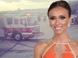'Nothing like a Saturday morning emergency landing': Giuliana Rancic has a scare in the air as her plane is forced to land after lost cabin pressure