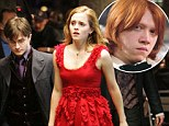 Wrong match? JK Rowling has revealed that Ron and Hermione's marriage was a 'wish fulfillment'