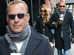 They still got it! Kevin Costner and wife Christine Baumgartner warm up chilly New York in matching coats for romantic stroll