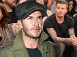 David Beckham unwinds at Knicks vs. Miami Heat game after being mobbed by fans hours earlier at meet and greet event