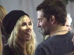 Going dry for love: Suki Waterhouse has stopped drinking alcohol after her boyfriend Bradley Cooper asked her