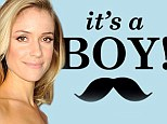 'We're having another boy!' Kristin Cavallari shares baby's gender with a cute light-blue Instagram message