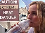 Brutal test! Diane Kruger and Joshua Jackson put their lives on the line to prove their green beliefs taking to Death Valley without water