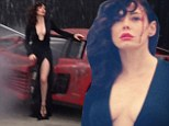 'I crashed today': Rose McGowan bravely relives terrifying 2007 car crash as she takes part in glamorous photo shoot