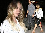 Newlywed bliss! Kaley Cuoco shows off her edgy style while celebrating one month of marriage with Ryan Sweeting