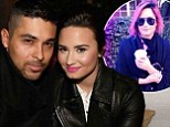 Demi Lovato denies engagement to Wilmer Valderrama but gushes that the birthday boy is the 'funniest, most inspiring, incredible man I know'