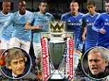 Anticipation: The winner out of Manchester City and Chelsea will be in a fantastic position to win the Premier League