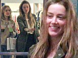 Girls' day out: Amber Heard and soon-to-be stepdaughter Lily-Rose Depp display their easy bond during afternoon outing in LA