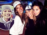Putting the Super in Super Bowl! Alessandra Ambrosio leads a who's who of top models taking in the action at the annual NFL extravaganza
