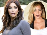 'I'm back!' Kim Kardashian ditches the blonde bombshell look and returns to being a brunette