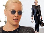 Dedicated to the cause! Animal rights activist Abbie Cornish rocks sexy leather-free ensemble at LAX