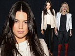 Seeing double! Kendall Jenner and Hayden Panettiere wear matching leather trousers and pale blazers to NYC party