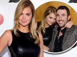 Getting cozy! Kate Upton canoodles with former beau Justin Verlander at GQ Super Bowl Party in NY