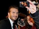 English former footballer David Beckham arrives at the GQ Men of the Year Award