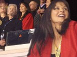 Playing For Keeps: Catherine Zeta Jones and Michael Douglas put on united display with kids at the Super Bowl