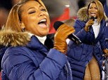 Queen Latifah delivers melodic rendition of America the Beautiful at Super Bowl XLVIII