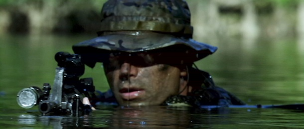 A scene from 'Act of Valor'. Courtesy Alliance Films.
