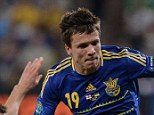 Liverpool-bound: Steven Gerrard and Yehven Konoplyanka could be playing for the same side next week