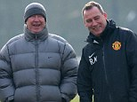 Always there! Meulensteen says Sir Alex Ferguson is on hand to talk through situations on the phone