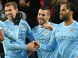 Goals galore: Manchester City have found the back of the net over 100 times already this season