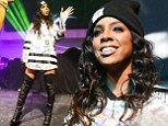 Kelly Rowland put in a performance at the Super Bowl after party