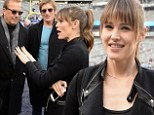 Ready for kickoff! Jennifer Garner takes the field at the Super Bowl and leads a roster of impressive stars arriving at the big game
