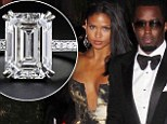 EXCLUSIVE: Diddy denies proposing to girlfriend Cassie after flashing a large diamond engagement ring on Instagram and asking if she liked it