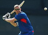 Eyes on the prize: Ashley Giles is the favourite to be named new England team director
