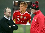 Manchester United are keen on a move for Bayern Munich midfielder Toni Kroos