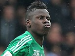 Confident: Chelsea have agreed a fee with Saint Etienne for promising centre-half Kurt Zouma