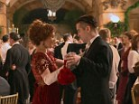 Shall we dance? Jessica Brown Findlay and Colin Farrell's characters fall madly in love in the movie