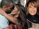 'I'm finally happy!': Whitney Houston's daughter Bobbi Kristina and new husband Nick Gordon kiss in Georgia... just before 2 year anniversary of singer's death