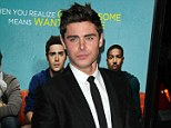 Dream role: Zac Efron is in talks to star in the new Star Wars film, he has revealed