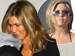 Clinging onto The Rachel! Jennifer Aniston spent hours in the chair getting hair extensions because cropped locks 'made her look older'