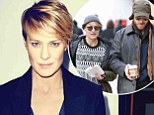 'I'm a cougar?' Robin Wright, 47, is not impressed at the perception about the age gap between herself and fiance Ben Foster, 33