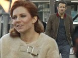 Ryan Reynolds and Sienna Miller seen on the sets of Mississippi Grind filming on the Creole Paddlewheeler on the Mississippi River in New Orleans