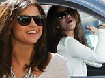 Looks like she got the part! Selena Gomez whoops for joy as she jumps in her car after casting call in Los Angeles