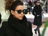 Chic: Eva Longoria arrives in Paris and is seen visiting the French capital in order to shoot a commercial for L'Oreal