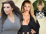 'I'm so annoyed I dyed my hair dark!': Kim Kardashian has a crisis of confidence after returning to her roots... as rumours of her first Vogue cover are dispelled