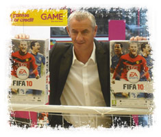 Ian Rush at GAME Oxford Street store