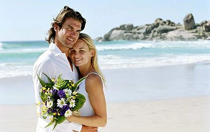 Couples are thinking about more adventurous wedding locations...