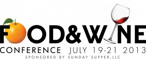 Food and Wine Conference logo