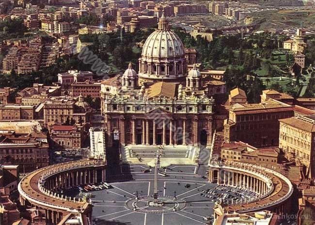Фото собора святого Петра в Риме