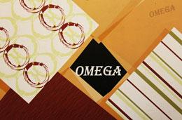 کاغذ دیواری امگا(omega)