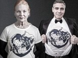 I'll make my business smaller, says eco-warrior Vivienne Westwood as Georgia May Jagger, Jerry Hall and George Clooney front new climate change campaign