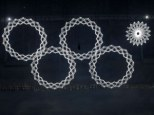 #Sochiproblem: However, one of the gigantic glowing snowflakes failed as the four others opened up in an attempt to form the Olympic rings