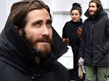 Jake Gyllenhaal steps out in New York with mystery woman one month after it was revealed he has split from Alyssa Miller