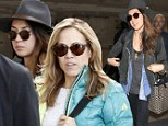 When musicians collide! Sheryl Crow and Michelle Branch step off the same plane at LAX